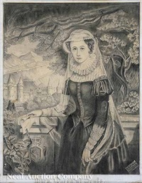 mary queen of scots by a. fisher