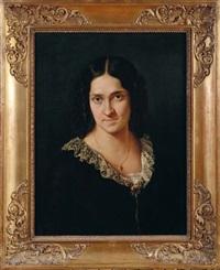 ritratto della cantante matilde juva branca by francesco hayez