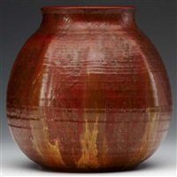 faceted vase by arthur e. baggs