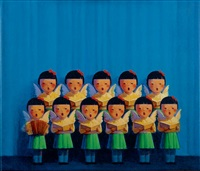 angel chorus by liu ye