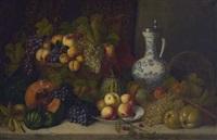 früchtestillleben mit fayencekrug by joseph correggio