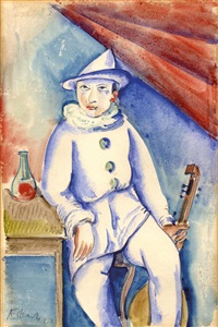 pierrot by alois erbach