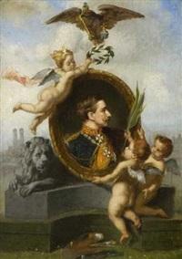 münchen huldigt kaiser wilhelm ii by lucia mathilde von gelder