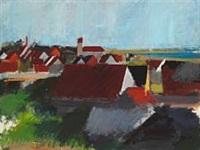view over vesterø by søren hjorth-nielsen