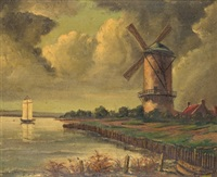 paisaje holandes by emilio aliaga romagosa