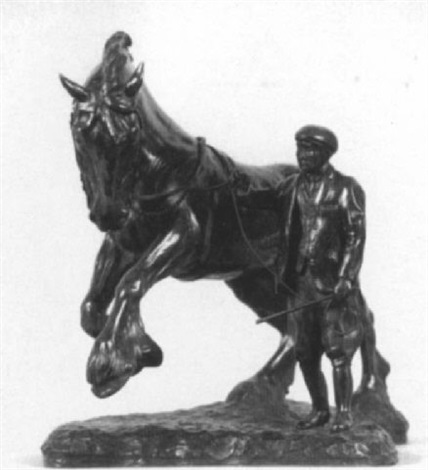 horse and trainer by gill parker