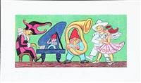 dansen og musikken (the dance and the music) by henry heerup