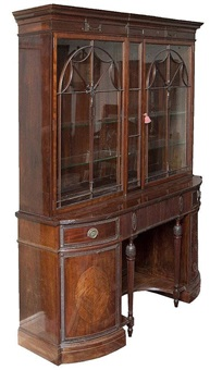 display cabinet by waring & gillow