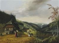 heuernte im schwarzwald by nikolaus ganter