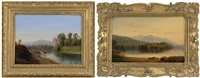 landscapes (2 works) by john white allen scott