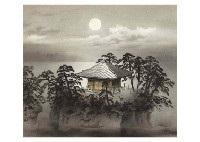moon in matsushima by kibo kodama