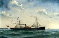 the cargo steamer