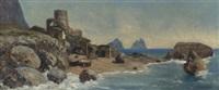 strand auf capri by johann heinrich limpert