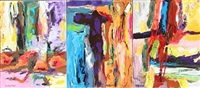 dances from another world (triptych) by rolf gjedsted