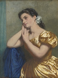 day dreaming of love by edward killingworth johnson