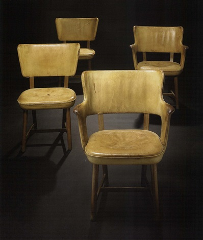 armchairs pair by tyge hvass