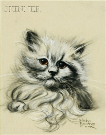 kitten siamese cat 2 works by gladys emerson cook