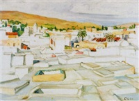 tunis-stadt by hans olde