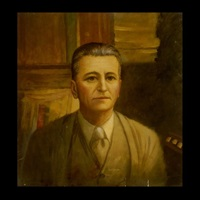portrait of f. scott fitzgerald, hollywood by hal bayard runyon
