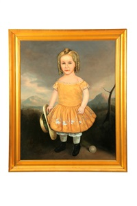 naive image of a young girl by elmer barstow packard