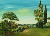 archaic landscape by thomas arnel