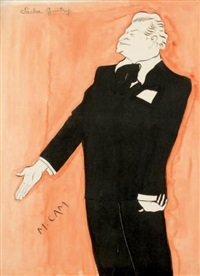 sacha guitry by maurice cam