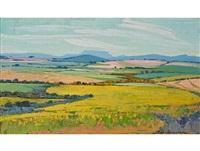 an extensive landscape by piet (pieter gerhardus) van heerden