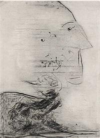 portrait of maurice felt by asger jorn