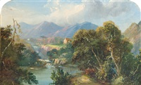 near pitlochry by anne gibson (bennett) nasmyth