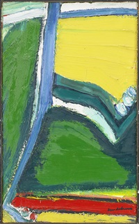 abstraction paysage by bengt lindström