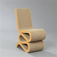 wiggle side chair (from easy edges) by frank gehry