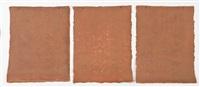 durango strata (triptych) by michelle stuart
