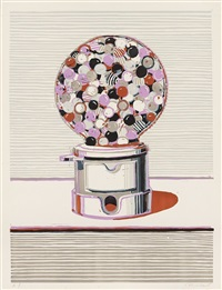 gumball machine by wayne thiebaud
