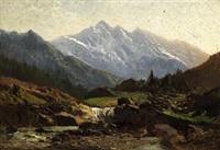 paesaggio montano by ernesto allason