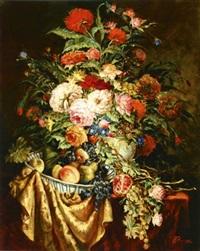 roses (+ fruit; pair) by oleg gurenkov