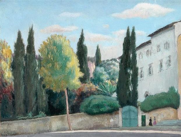 paesaggio by roméo costetti