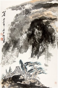 山居 by zhao songtao