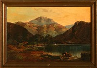 view from loch lomond by bartholomew smith