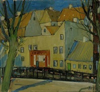 scenery from christianshavn, copenhagen by immanuel ibsen
