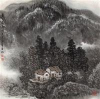 夏山暮雨 by liu shumin