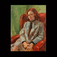 portrait of woman by keith ward