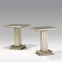 sofa tables (pair) by grosfeld house