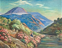paysage de kabylie by roméo aglietti