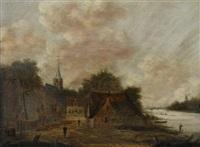 dorpgezicht by jan meerhout