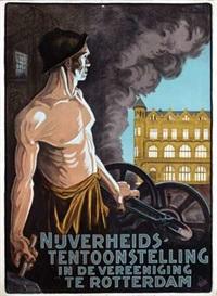 nijverheids-tentoonstelling in de vereeniging te rotterdam by arnold van roessel