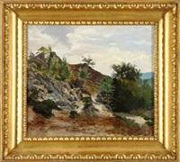die teufelsmauer im harz by eduard wilhelm pose