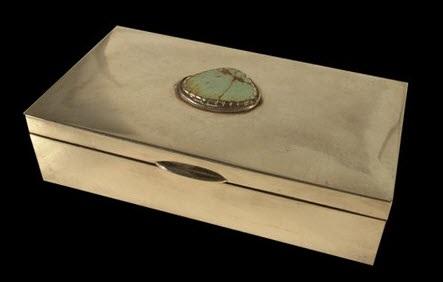 navajo box by joe chee