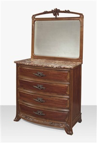 dressing commode by louis majorelle