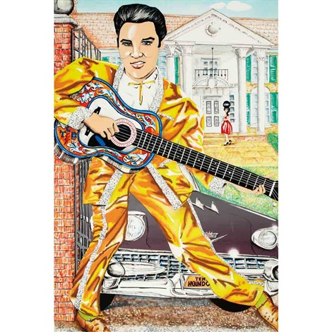 elvis by red grooms