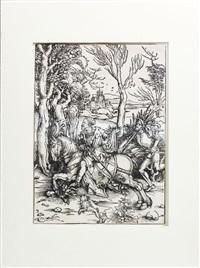 cavaliere e lanzichenecco by albrecht dürer
